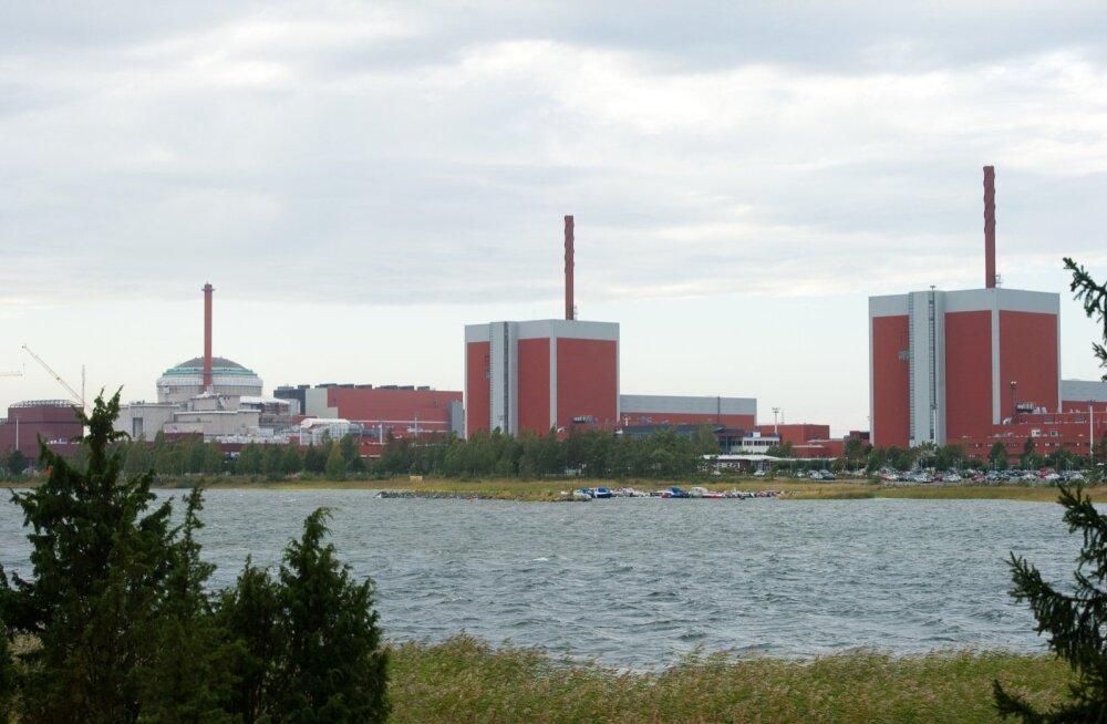 Soome Olkiluoto tuumajaama mõlemad reaktorid on võrgust välja lülitunud, võimalik on elektridefitsiit