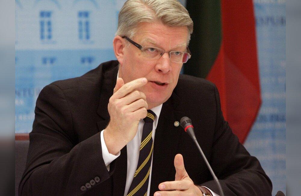Läti presidendilt oodatakse seimi laialisaatmist