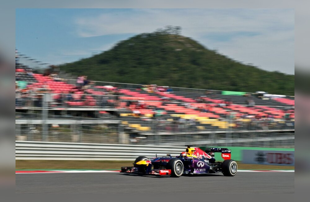 Sebastian Vettel  Koreas