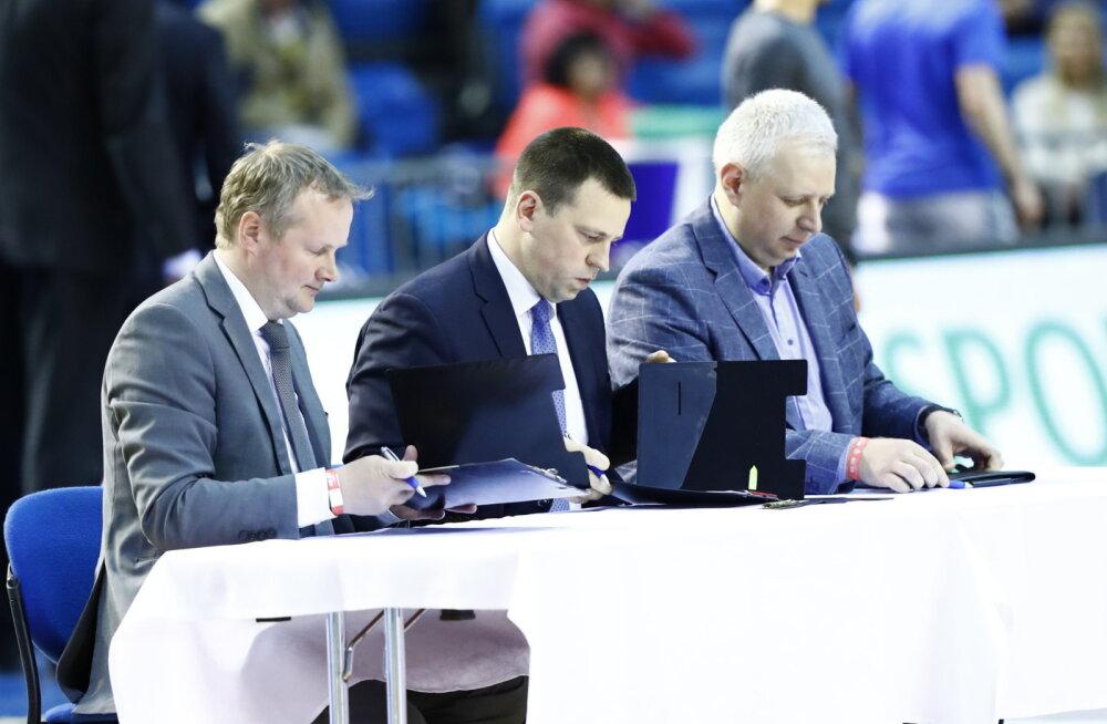 Korvpalliliit sõlmis uued lepingud TV3 ja Ekspress Meediaga