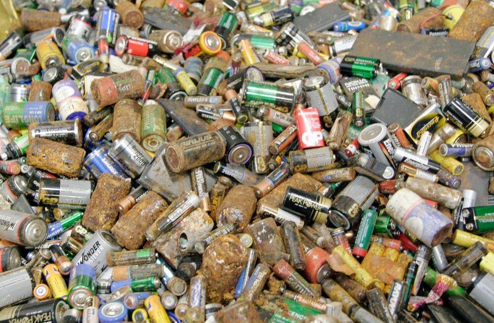 В Ласнамяэ объявлен дополнительный сбор опасных отходов