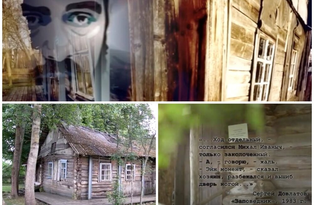 ФОТО   Необычный дом-музей Сергея Довлатова в Пушкинских горах
