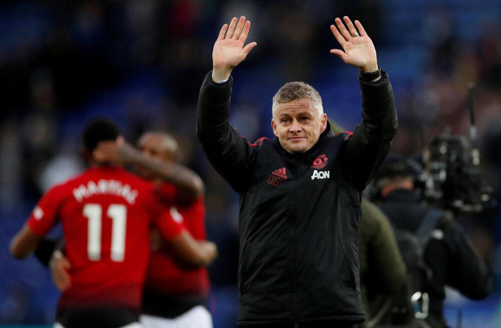 Solskjaer: Manchester United on tiitlikonkurentsis kahe aasta pärast