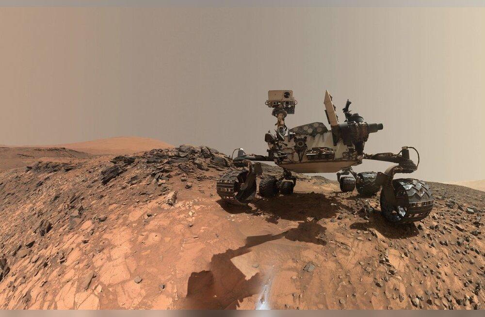 NASA kulgur Curiosity leidis Marsilt taas elu märke