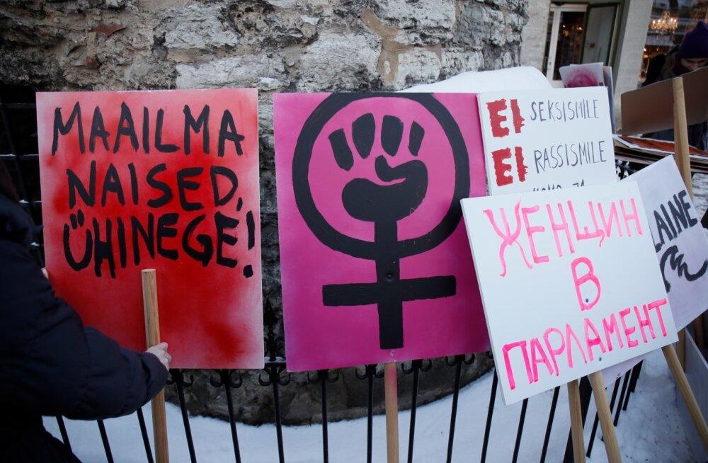 ГЛАВНОЕ ЗА ДЕНЬ: Женский марш в Таллинне, крещенские купания и предложение резервного план гособороны