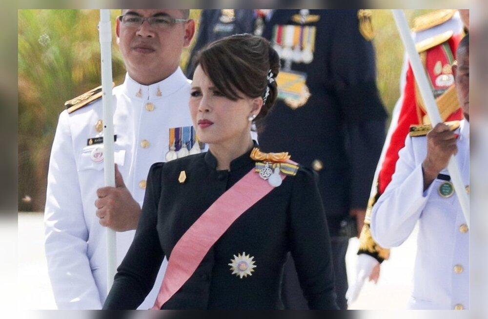 Tai printsess Ubolratana kõrvaldati peaministrikandidaatide hulgast