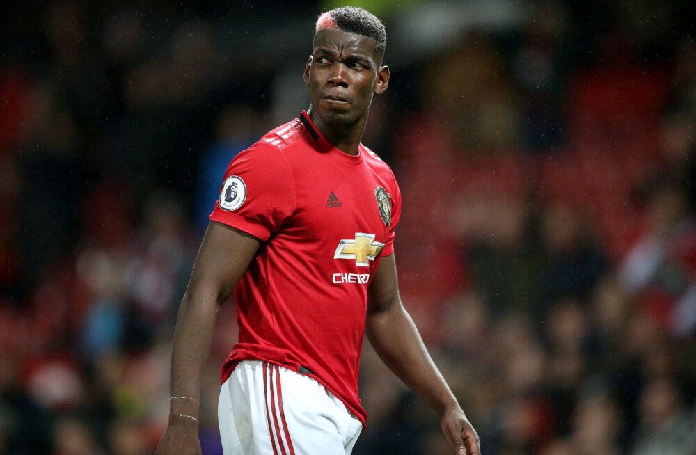 Manchester Unitedi legend kritiseeris Pogbat: ta on Unitedi probleemne laps