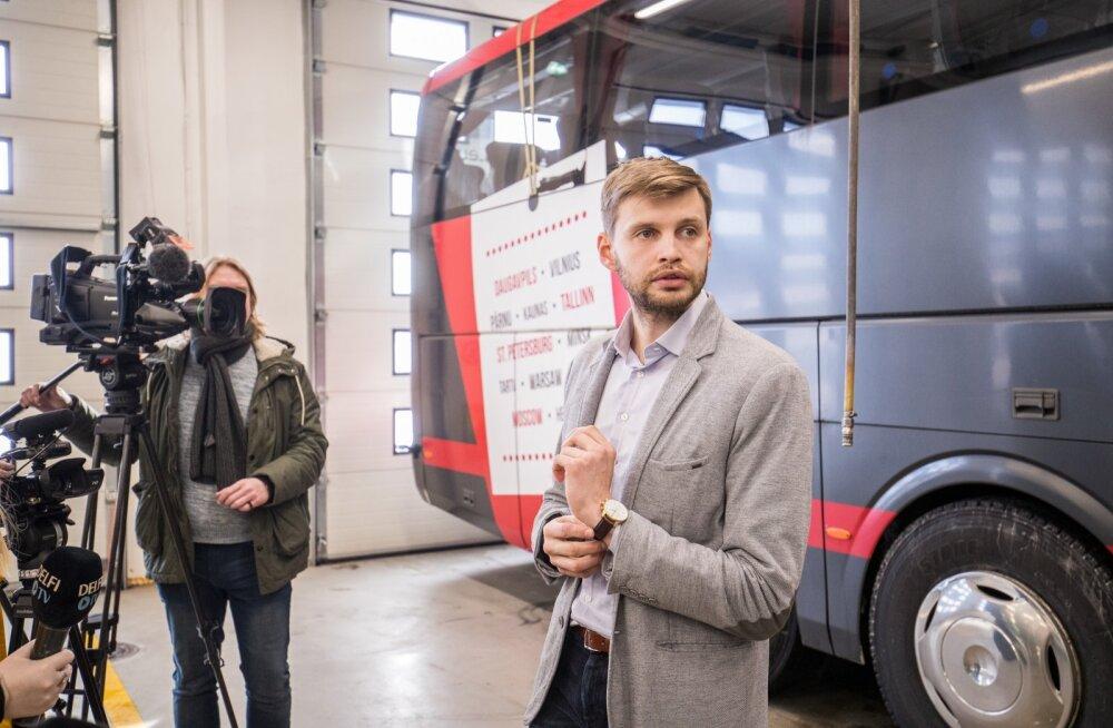Janno Ritsberg kinnitas, et vajaduse korral annab bussijuht sõitjale maski.