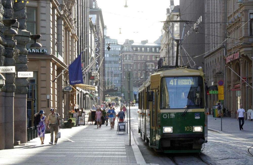 """В пятницу в Хельсинки не будет работать общественный транспорт из-за забастовки против """"модели активности"""""""