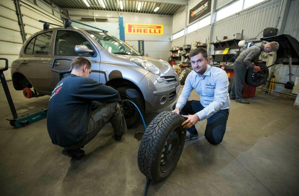 Karl-Ergo Kulla sõnul on praegu õige aeg hakata autot talveks ette valmistama.