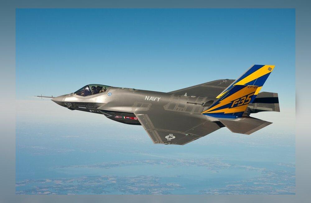 USA uue põlvkonna hävitaja F-35 Lightning II kardab oma nimekaimu välku