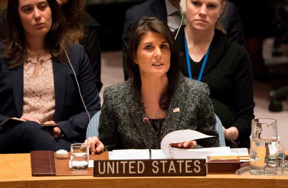 USA ähvardas pärast Venemaa vetot ÜRO-s üksi Iraani vastu samme astuda