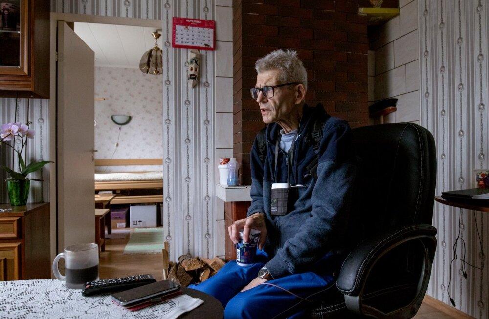 Sven Tombak – maota ja söögitoruta mees.
