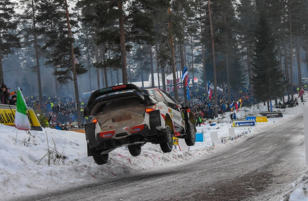 Rootsi ralli 2019 Colin Crest