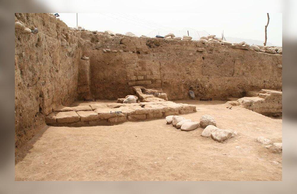 Iraagi künka alt kaevates leiti üles iidne kuningalinn