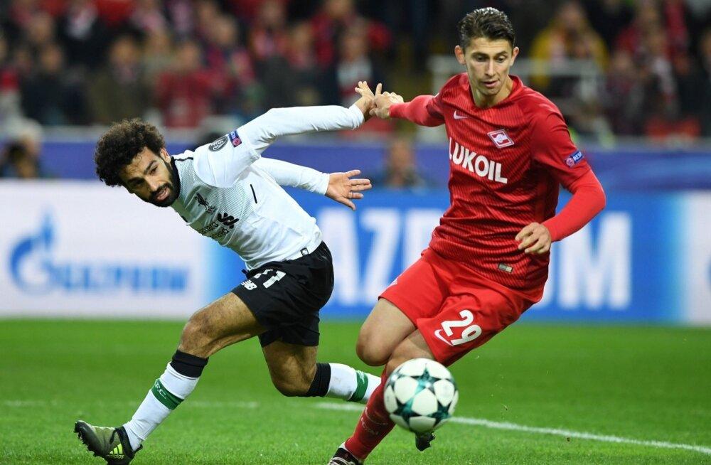 Mohammed Salah (Liverpool) vs Ilja Kutepov (Spartak)