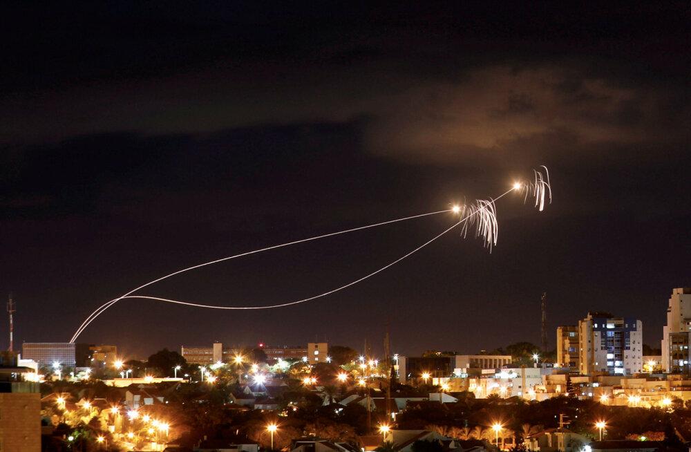 Gazast tulistati Iisraeli 14 raketti