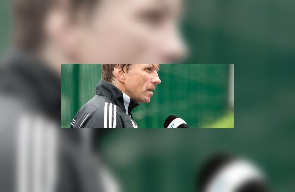 Igor Prins Levadia peatreener