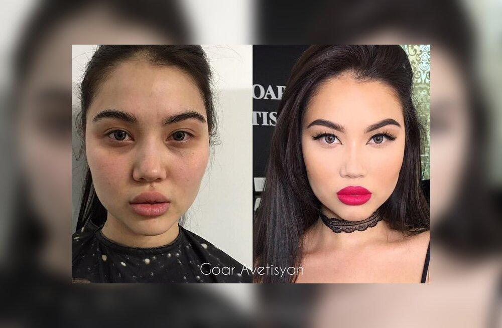 Как макияж меняет женщин до неузнаваемости: 15 примеров