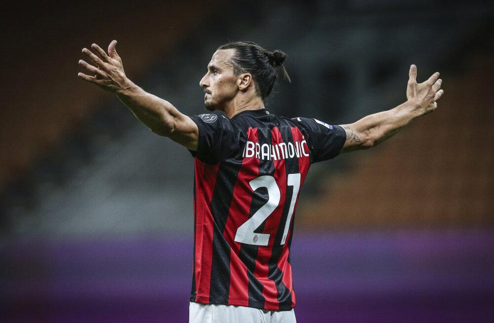 Ibrahimovic kirjutas enda nimele Serie A rekordi
