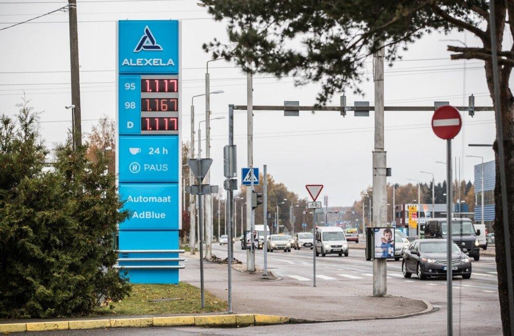 kütuse hind