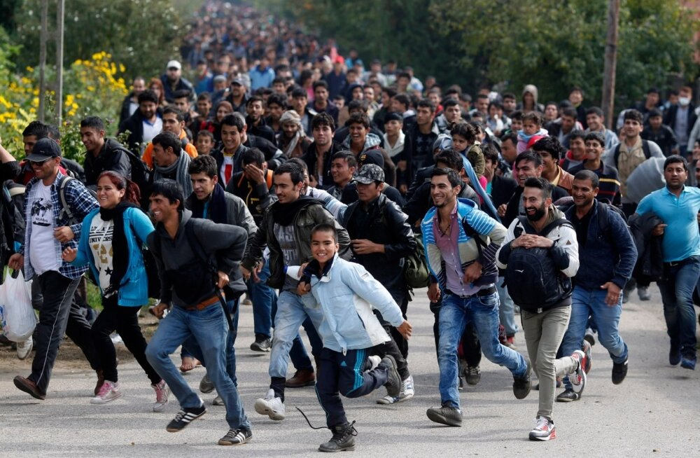 Ajaleht: Euroopa Liidul on salaplaan 400 000 migrandi väljasaatmiseks