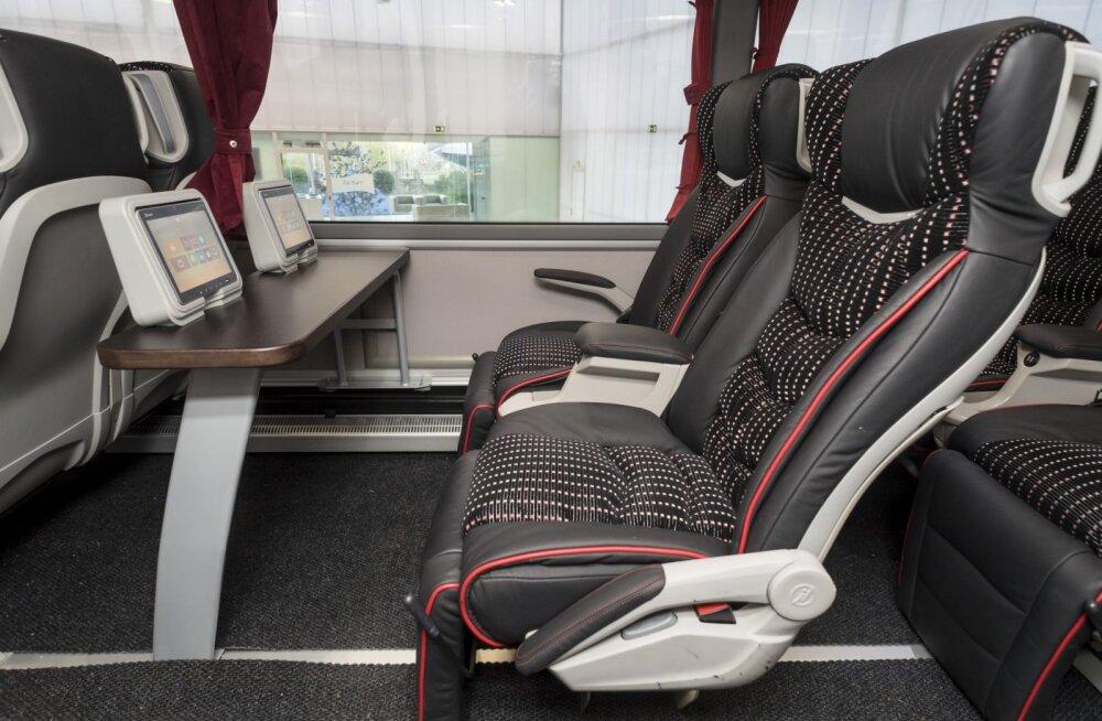 Uhke värk! Vaata, millised näevad välja Eesti kõige moodsamad reisibussid