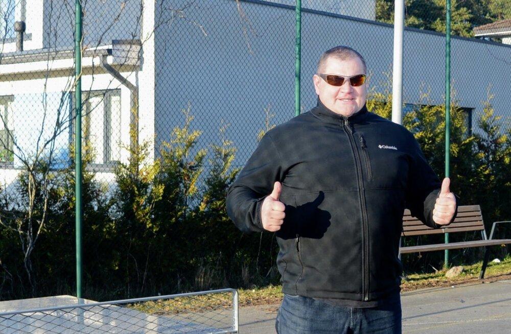 Kaido Leesmann üksi metsas treenimisest: viimati treenisin niimoodi vist 1989. aastal, hea nostalgialaks!