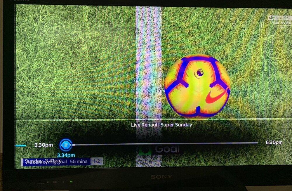 VIDEO | Inglismaa jalgpallifännid on Arsenali värava järel segaduses: kas väravajoonetehnoloogiaga saab tõesti manipuleerida?