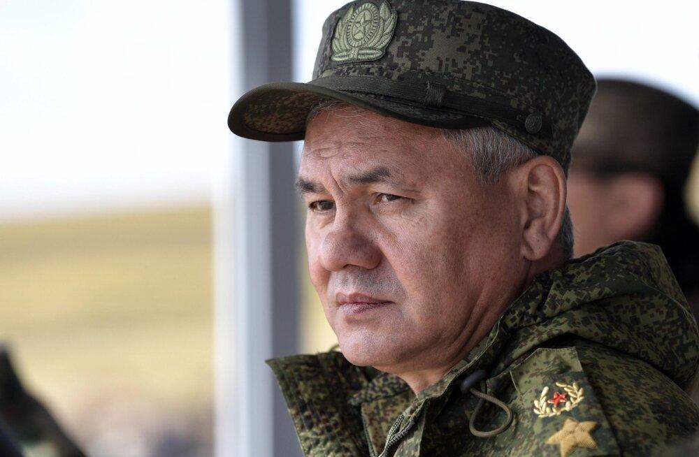 Kaitseminister Šoigu: NATO harjutab Vene piiridel ründetegevust