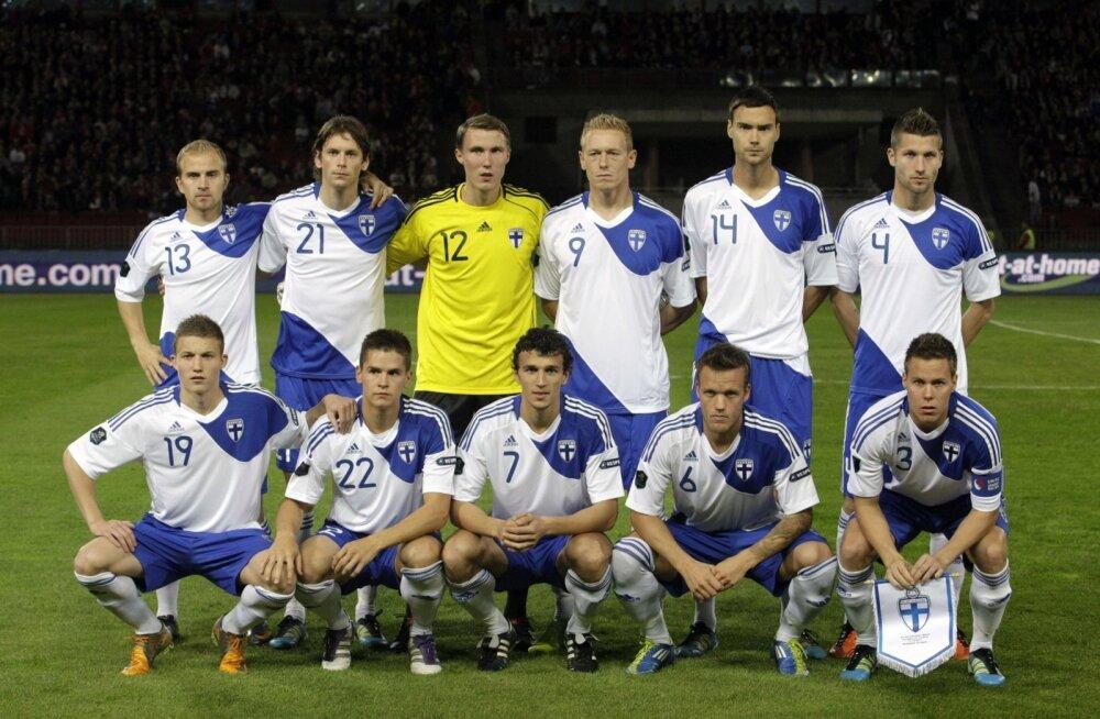 Soome jalgpallikoondis.