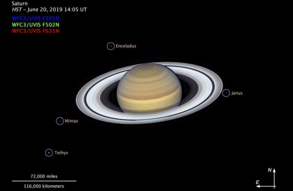 Astronoomid leidsid ootamatult 20 uut Saturni kuud (ja sa saad neile nimed panna!)