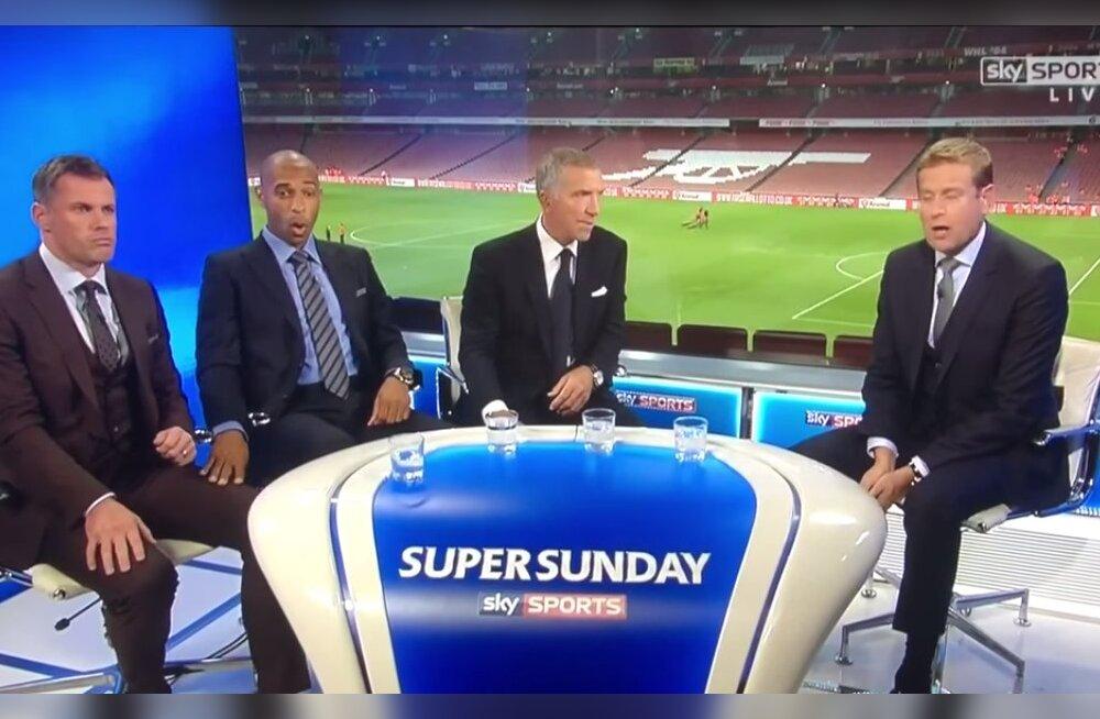 VIDEO: Thierry Henry omapärane reaktsioon Liverpooli treeneri vallandamisele