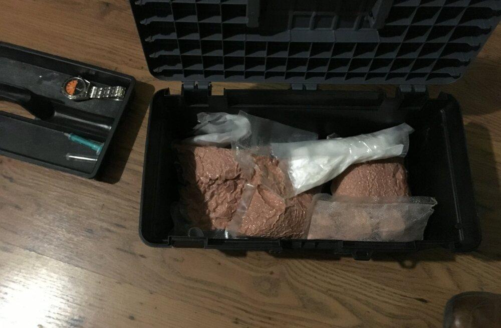 MTA pidas kinni narkootikumide käitleja