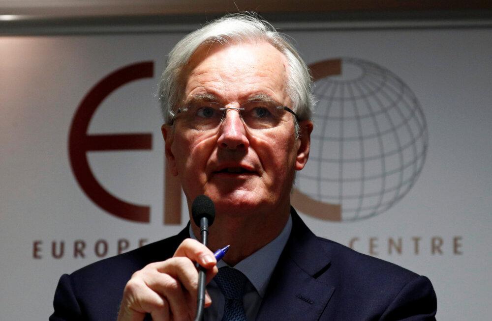 EL-i pealäbirääkija Barnier näeb Brexiti jaoks veel kolme võimalust