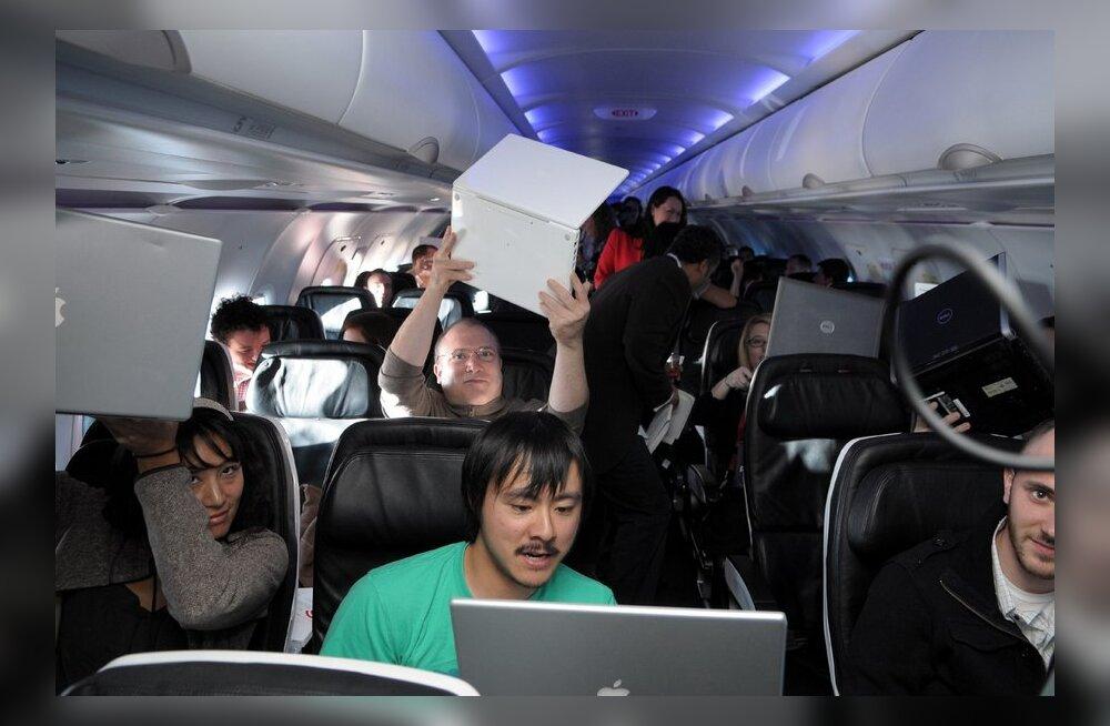 Wi-Fi lennukis – Ameerikas olemas ja kallis, Euroopas pigem unistus