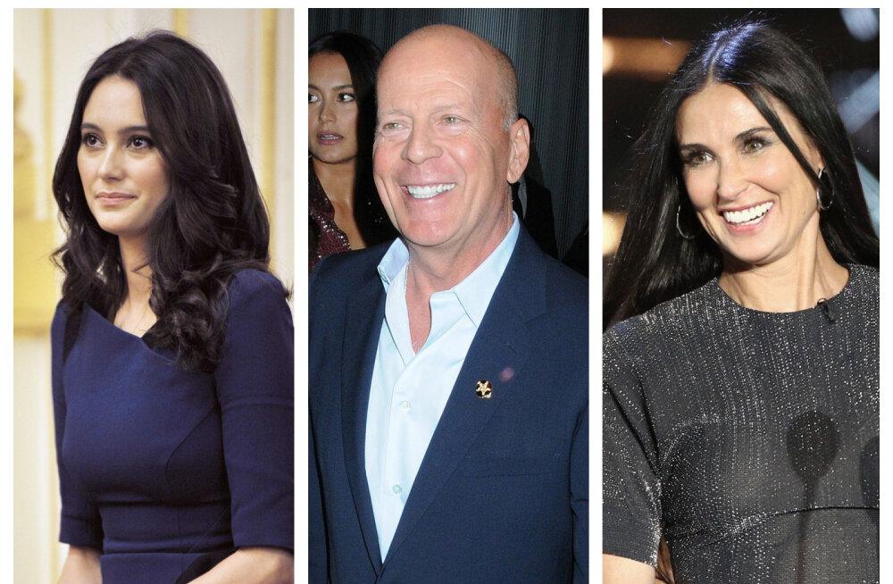 Selgus põhjus, miks Bruce Willis on karantiinis hoopis endise kallimaga: nad on suur õnnelik pere