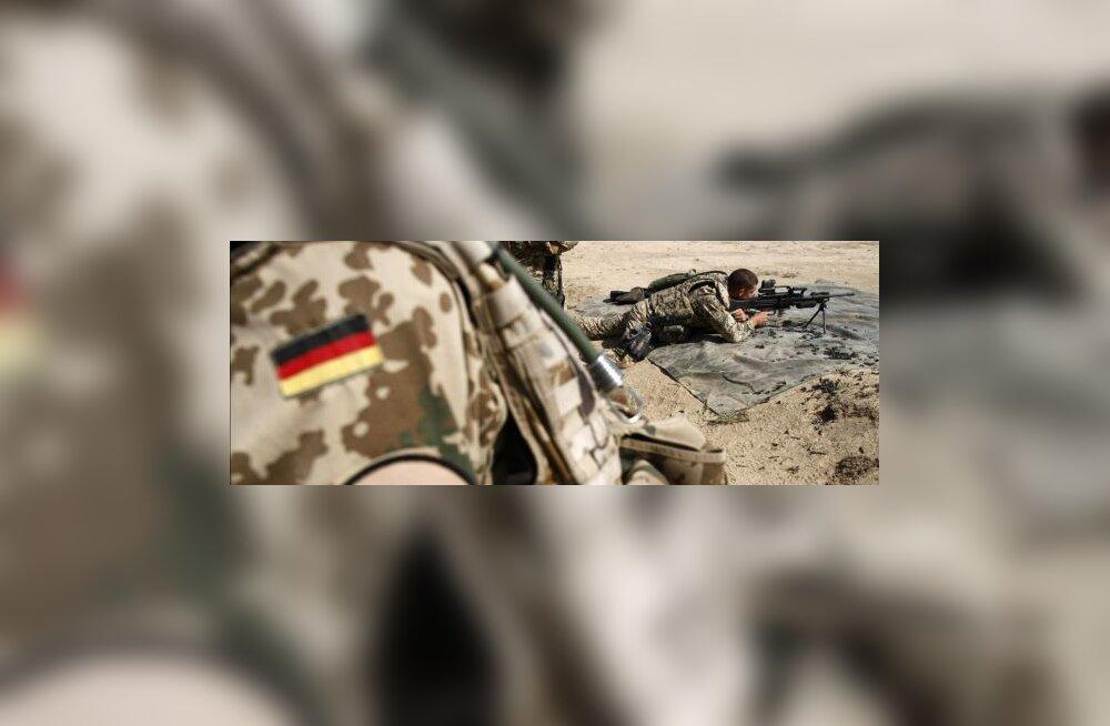 Raport: Saksa sõdurid on liiga paksud, et võidelda
