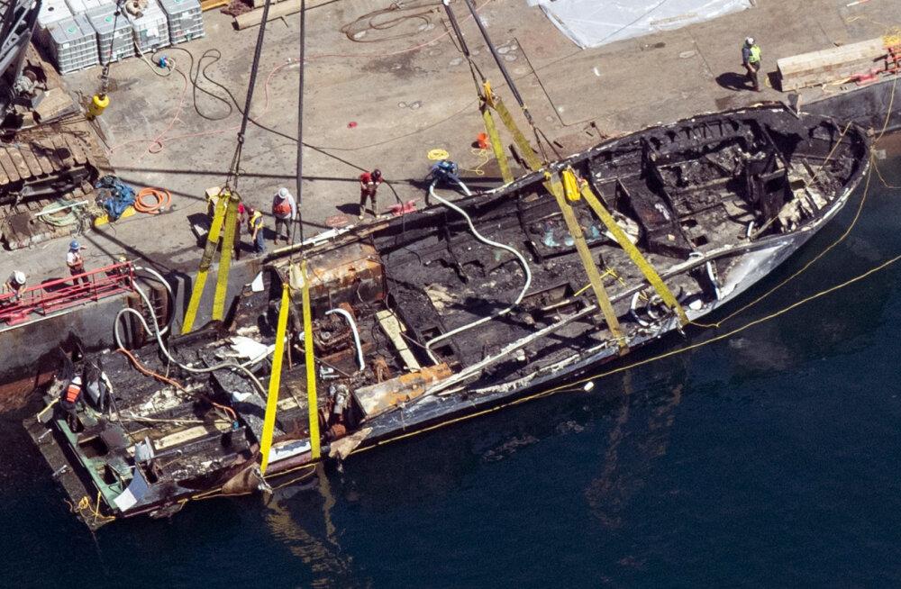California 34 hukkunuga laevatulekahju: kogu meeskond magas, kui tuli süttis