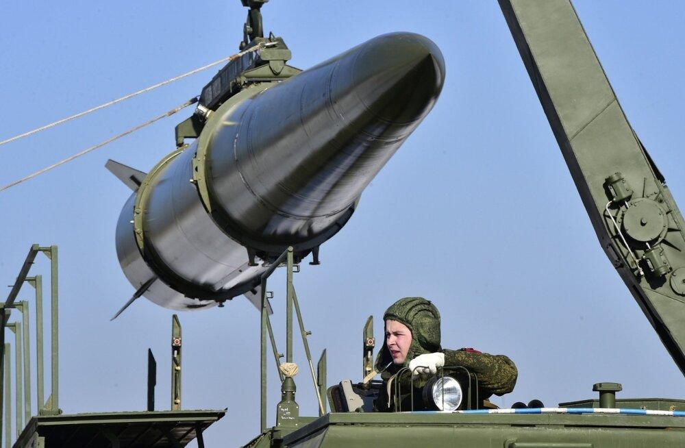 Moskva: Iskanderide Kaliningradi paigutamine ei riku ühtki kokkulepet, see on kaitse-, mitte ründerelv