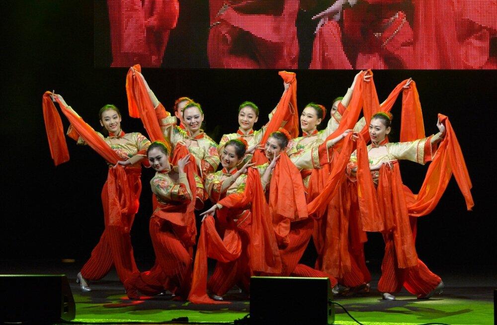 Hiina uue aasta tähistamine Lauluväljakul