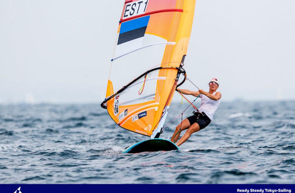 Ingrid Puusta oli eel-Olümpia medalisõidus kolmas
