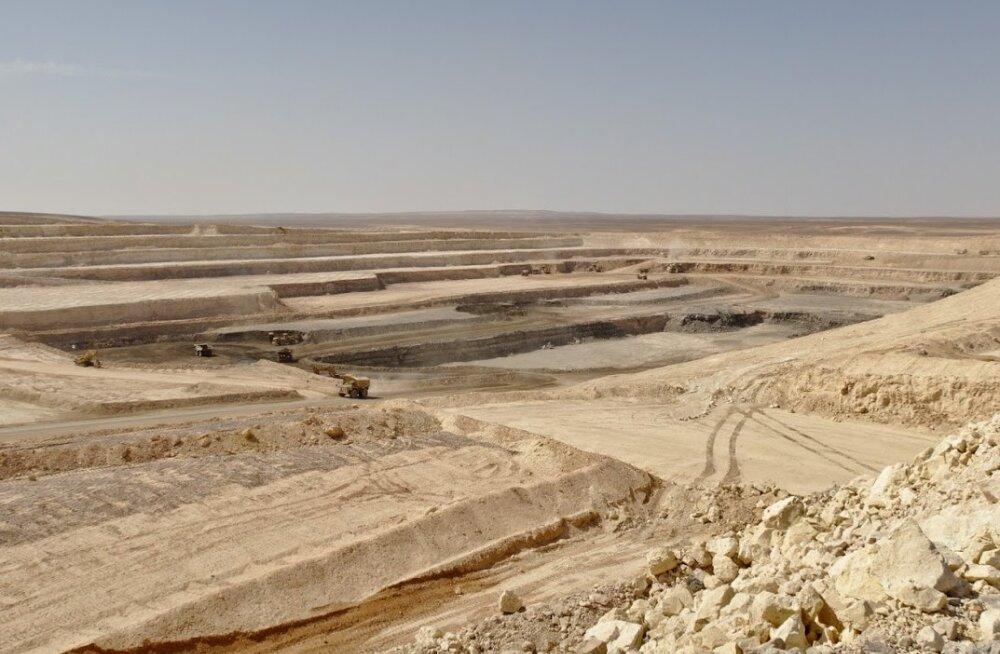 FOTOD | Eestlaste juhtimisel on Jordaanias kaevandatud esimesed miljon tonni põlevkivi