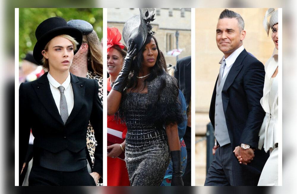 ФОТО: Смотрите, кто из знаменитостей пришел на свадьбу принцессы Евгении