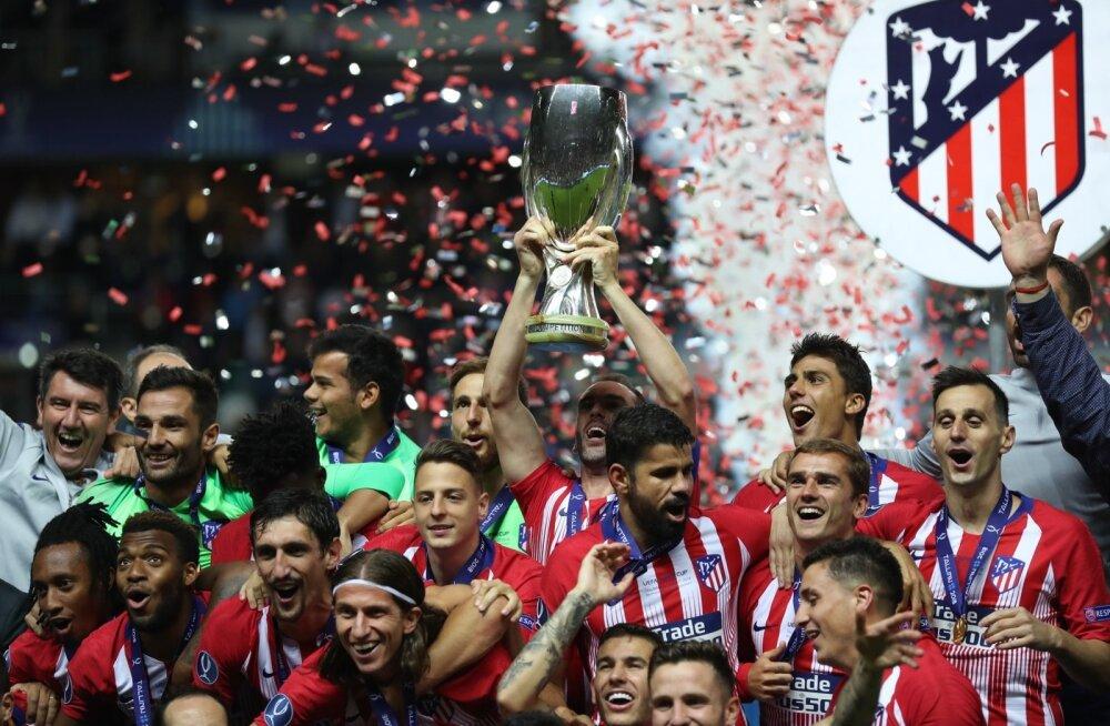 Madridi Atletico võimas Superkarikate seeria sai Tallinnas jätku