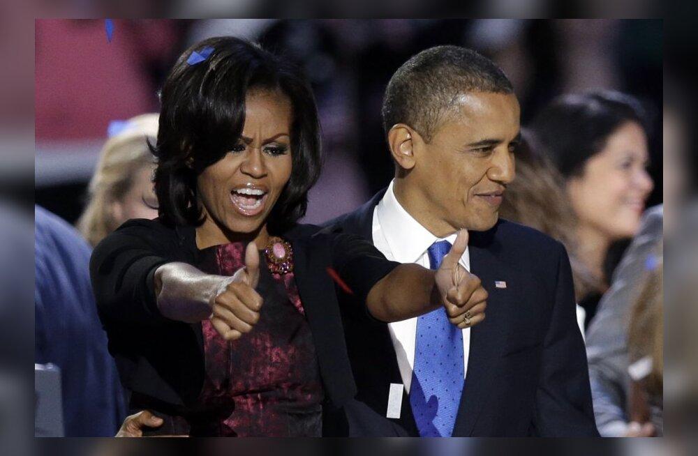 USA president: võib-olla tantsin gangnam-stiilis privaatselt Michelle'ile