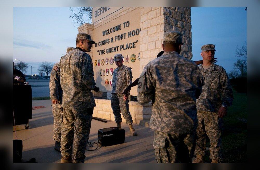 FOTOD ja VIDEO: USA sõjabaasis toimus massitulistamine, hukkus vähemalt neli inimest