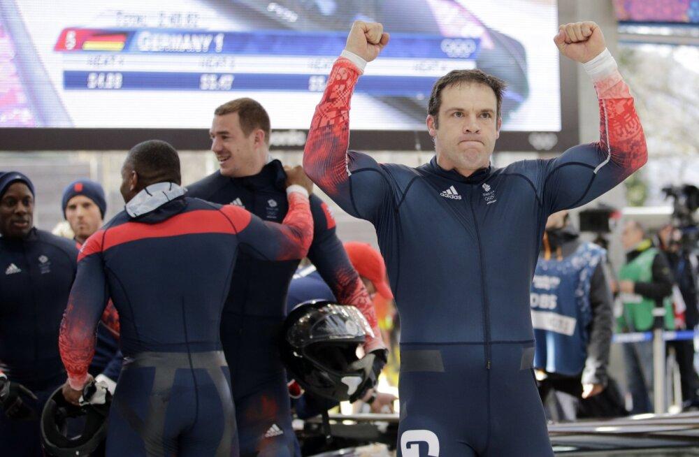 Tagantjärele Sotši olümpiapronksile tõusnud Briti bobikelgutaja: olin sõnatu ja üliõnnelik