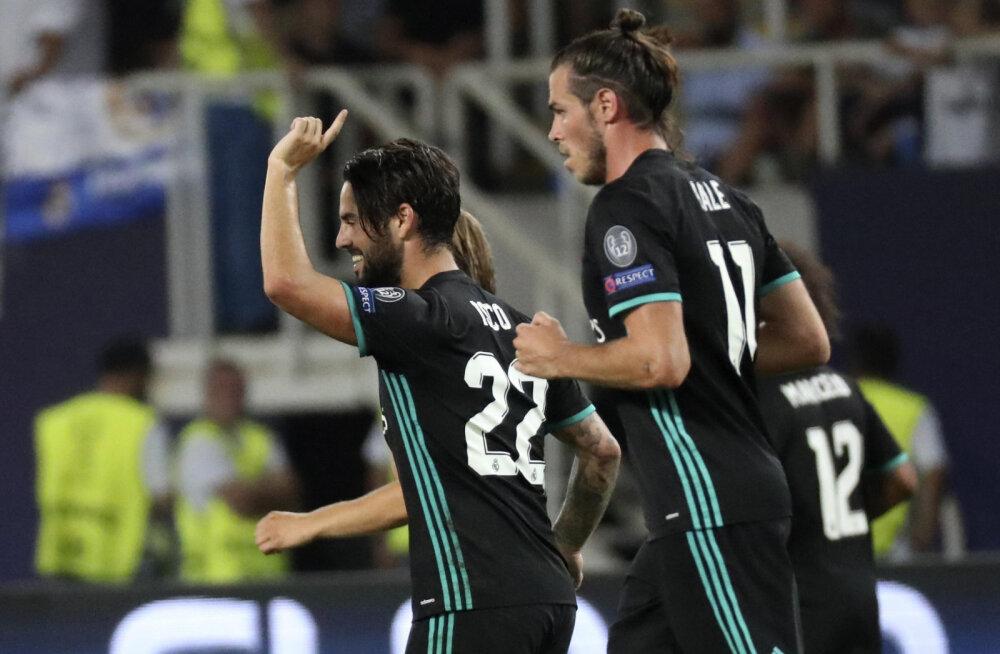 Real tõstis pea kohale superkarika, Lukaku lõi Unitedi debüüdil värava