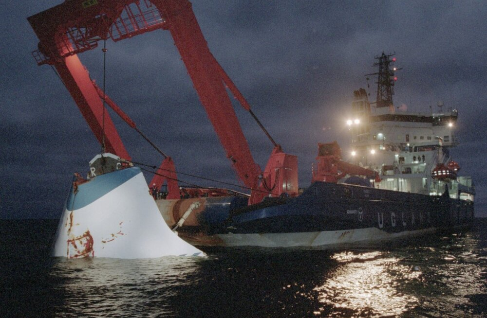 Helsingin Sanomat: Soome teadlane põhjendab uues teoorias auke parvlaev Estonia keres visiiri löökidega vastu selle külge